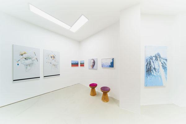 Ausstellungsimpression   Manfred Maria Rubrecht MENSCH.NATUR, Galerie Rubrecht Contemporary