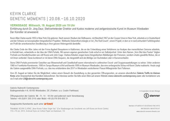Pressetext zur Einladung Kevin Clarke