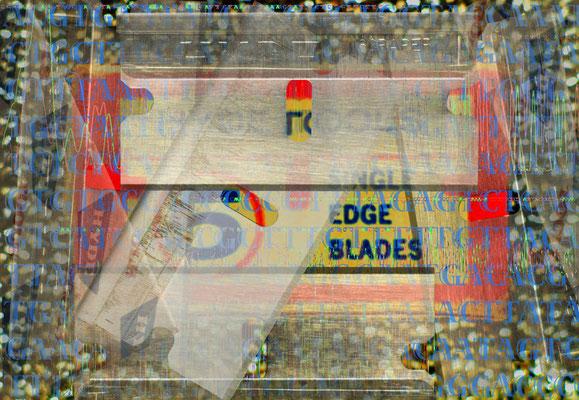 KC Kevin Clarke, Portrait of K Schwitters_Port, digital print, 60 x 100 cm, Editon 5