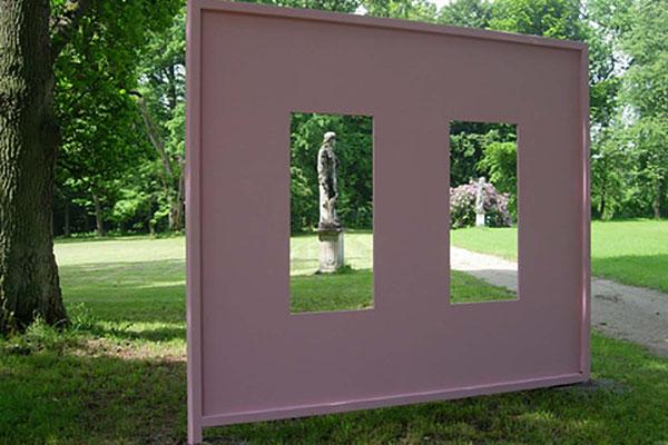 GT, Installation, Ansicht ROSA, 2007, Schloss Fasanerie