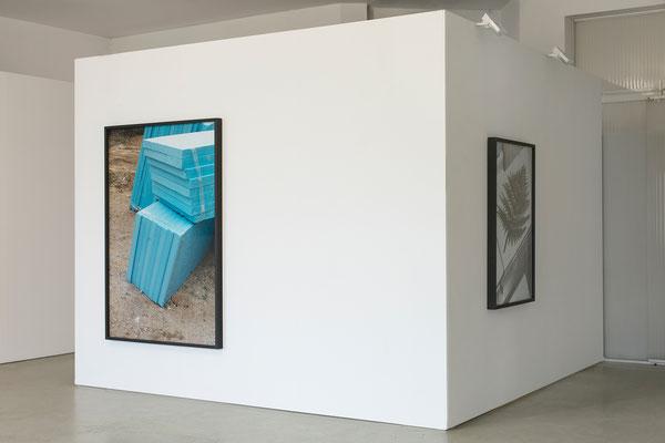 Ausstellungsansicht SILJA YVETTE in der Galerie, 2020