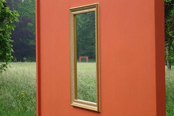 GT, Installation, Ansicht TURM, 2007, Schloss Fasanerie