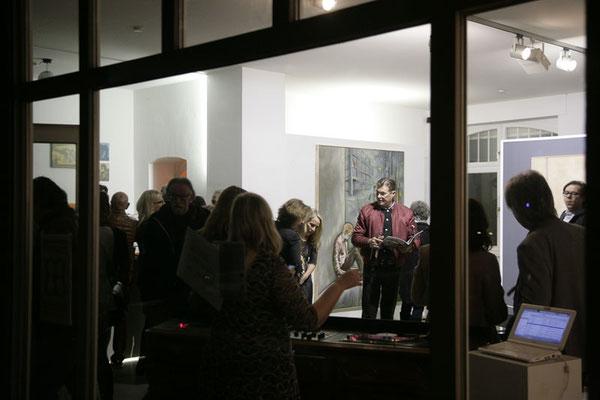 Opening_Impression Kosmos - Stefan Stichler Exhibit (Fotos von Jakob Lemnitzer), RUBRECHTCONTEMPORARY galerie (Fotos von Jakob Lemnitzer)