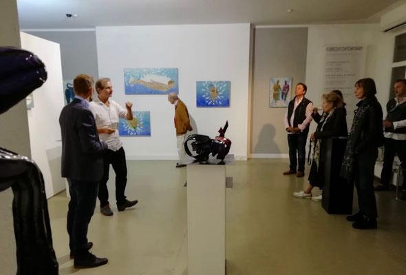 Im Gespräch mit dem Künstler Johannes Kriesche