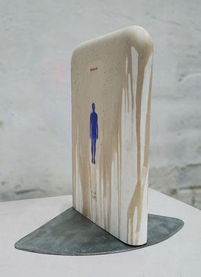 Kunstwerke am Stand DAF 2020 in Köln