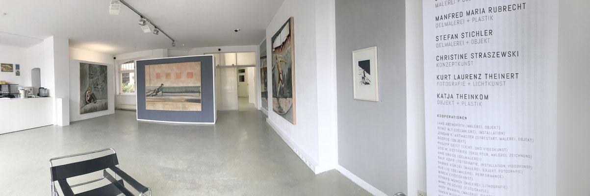 Kosmos Stefan Stichler 2018, Hauptraum,  RUBRECHTCONTEMPORARY galerie
