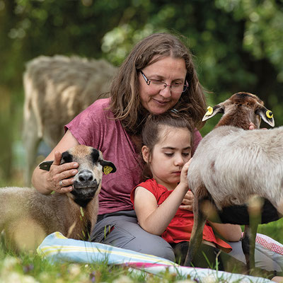 Tiergestützte Therapie mit Bauernhoftieren - Andrea Göhring
