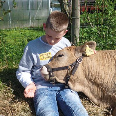 Tiergestützte Arbeit mit Kindern und Jugendlichen