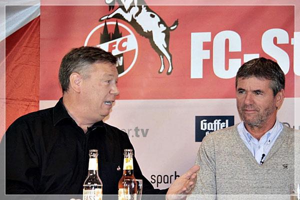 """Rekord-Bundesligatrainer Friedhelm Funkel zu Gast im """"FC-Stammtisch Talk"""""""