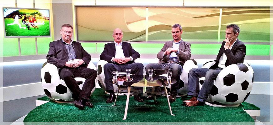 """""""Heimspiel Fußball Talk"""" mit Welt- und Europameister Bernd Cullmann und weiteren Talkgästen"""