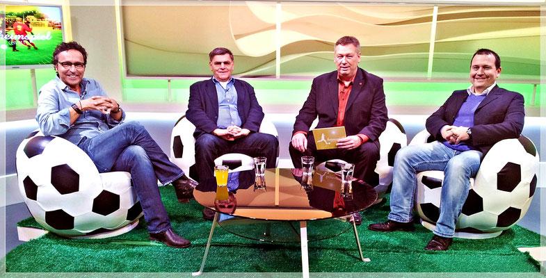 """Ein """"Heimspiel Fußball Talk"""" mit Vize-Weltmeister Wolfgang Weber"""