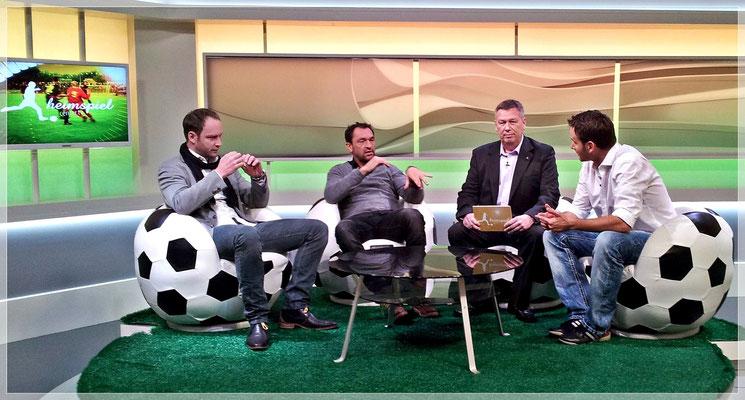 """Ein """"Heimspiel Fußball Talk"""" mit u.a. Claus-Dieter Wollitz"""
