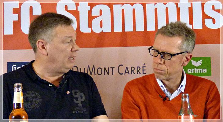 1.FC Köln Trainer Peter Stöger stellte sich im Talk