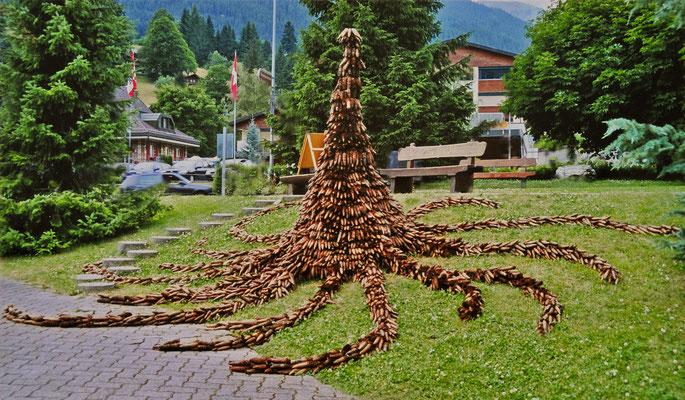 Grindelwald 2005 - Tanzzapfen - Ulla & Rolf Klaeger