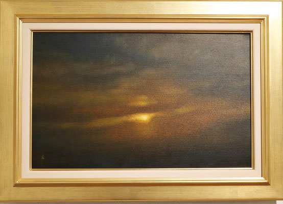 油彩 M10号 Oil on canvas 33cm x 53cm