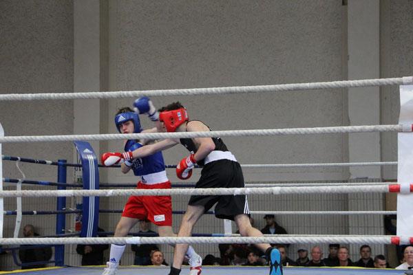 Gracjan verlor gegen einen starken Gegner nach Punkten.
