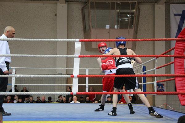 Robin gewann nach Punkten gegen einen erfahrenen Gegner.