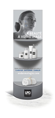 Mobilier PLV cosmétiques
