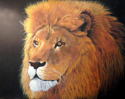 LION, Acryl auf Leinwand, acrylic on canvas, verkauft, sold