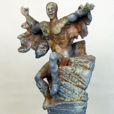 Ikarus I Holzkohlebrand