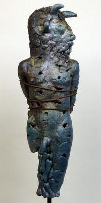 Minotaurus I Holzkohlebrand
