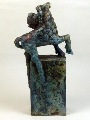 Pegasus I Holzkohlebrand