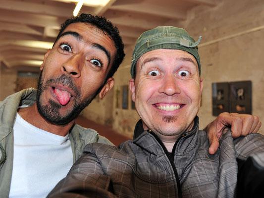 SELFie: Ahmed und Andreas Ender