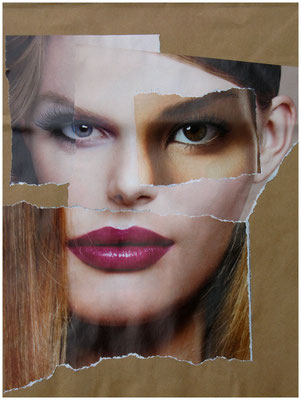 Foto & Konzept: Andreas Ender, photo-art+painting | paperbag [reBORN] - Embryo