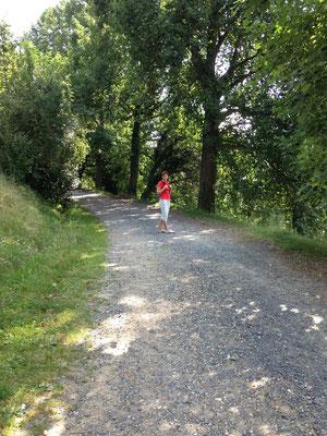 passeggiata in Burcina