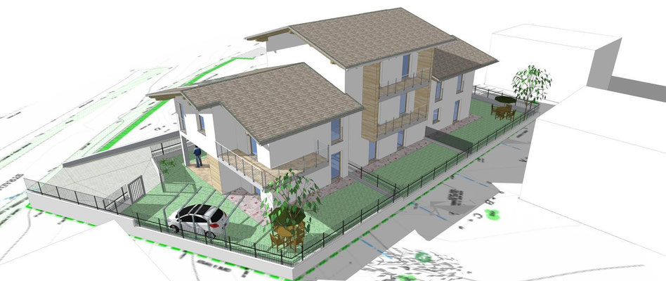 News rendering del progetto per la ristrutturazione con for Render case