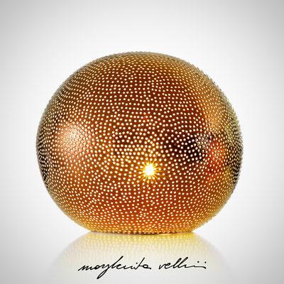Table/Floor lamps BUCHINI precious metal Red Gold 15% Margherita Vellini - Ceramic Lamps -  Home Lighting Design - Made in Italy