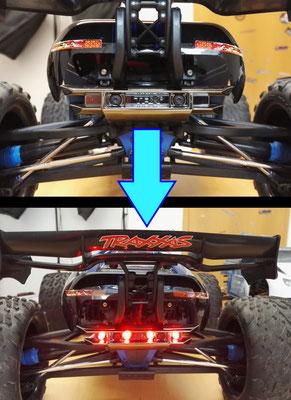 Unser Tuning-Programm umfasst auch den Einbau von Lichtanlagen in RC-Cars! Wahlweise fertige vom Hersteller erhältliche oder speziell auf Kundenwunsch zugeschnittene Sonderanfertigungen.