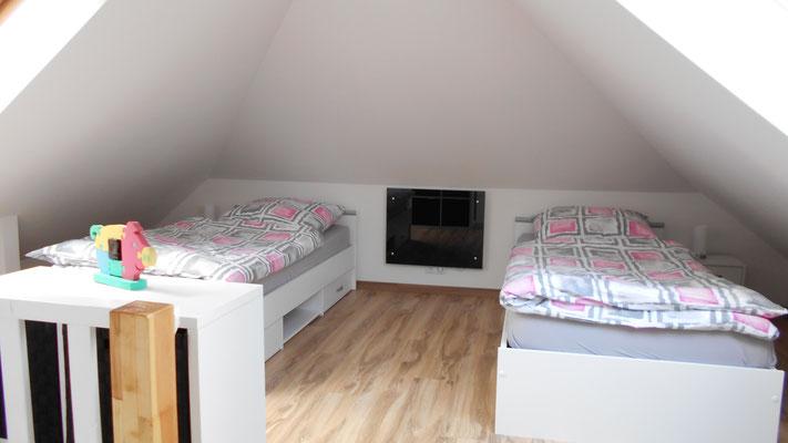 2 Einzelbetten (90x200)