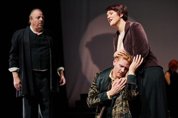 """Liederabend """"Könnt ich dich in Liedern preisen"""" (mit Merlin Wagner und Renatus Meszar, Bad. Staatstheater, Oktober 2019, @Arno Kohlem)"""