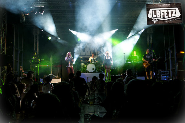 ALBFETZA Europas Oktoberfest Partyband www.albfetza.de