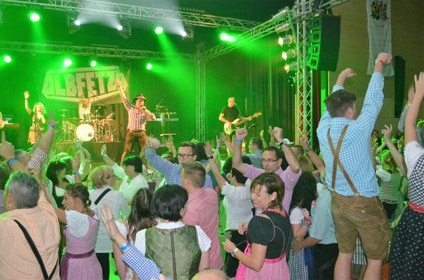 Albfetza Oktoberfestband Partyband