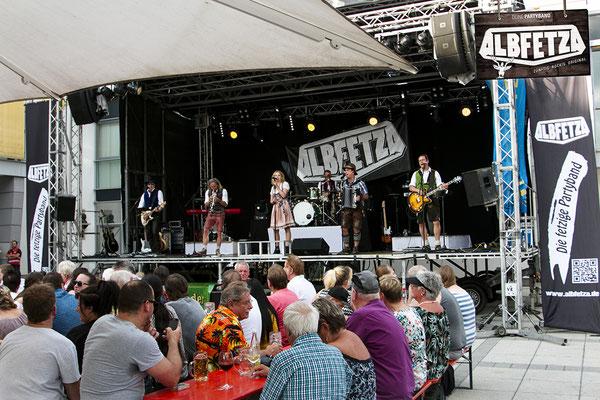 ALBFETZA Europas Oktoberfest Band www.albfetza.de