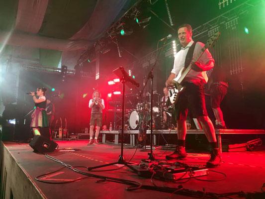 Albfetza Partyband live Ipfmess Bopfingen I Stadtfest I