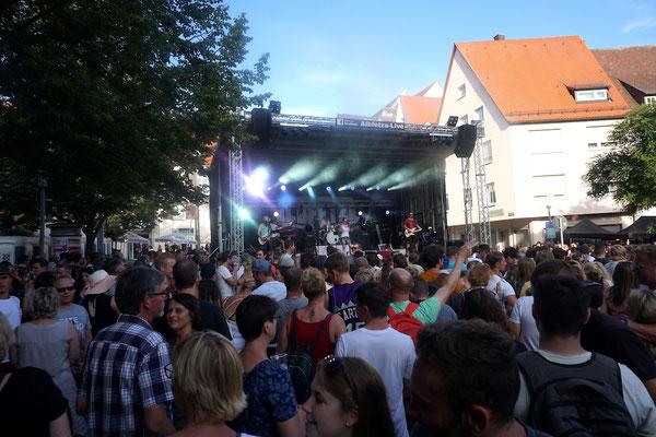 ALBFETZA Partyband live - Schwörmontag Ulm / Stadtfest / Open Air