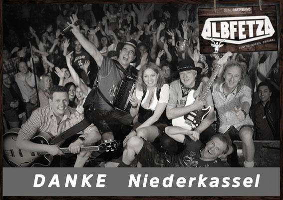 Albfetza Volksmusik Partyband Niederkassel Oktoberfest