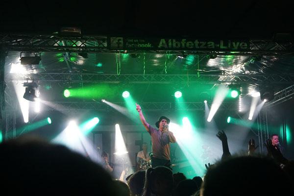 Albfetza Partyband live Bernstadt Frühlingsfest