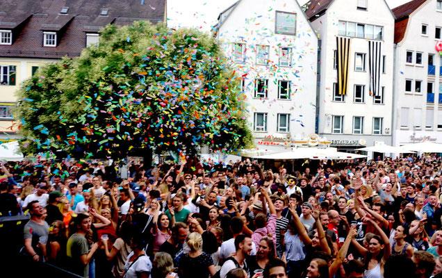 www.albfetza.de EUROPAS Oktoberfest Stadtfest Festzelt Partyband