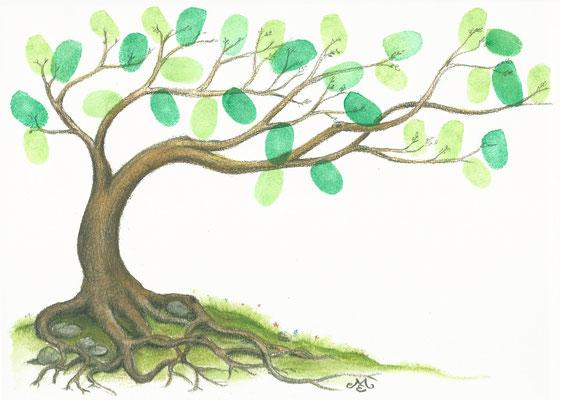 Segensbaum einzigartig besonders individuell - Wedding tree