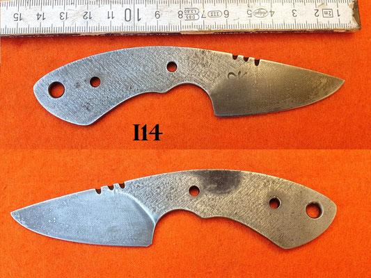 Nr.) I14 Carbonstahl 1.2003