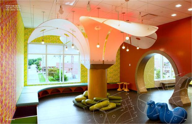 Dekorative Säulenverkleidung - Kindergarten - Hotel Lobby - Office.