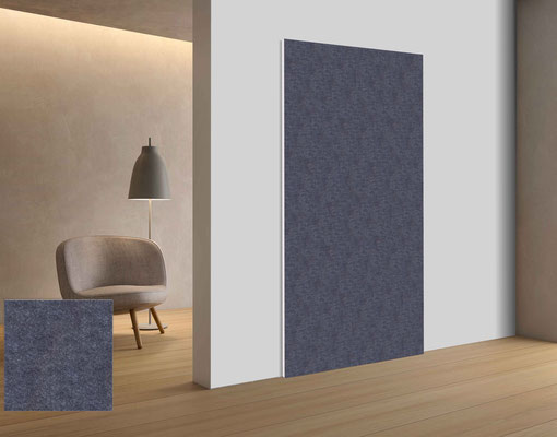 Filz Platten als Wandbekleidung, Raumteiler und mehr.