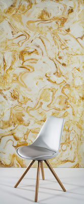 Natural Onix yellow/brown - Ansicht, hinterleuchtet