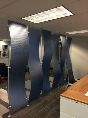 Raumtrennung mit Lumicor Designplatten - Lumicor läßt Dir die Freiheit
