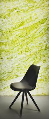 Natural Onyx green/yellow/grey - Ansicht, hinterleuchtet