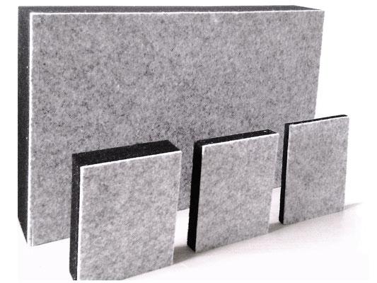Oberflächen mit Filz als Pinnwand nutzen und dabei Lärm reduzieren.